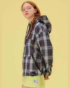 皮革边饰绢网半身裙
