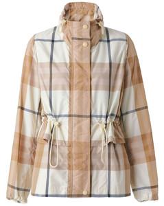 Leopard intarsia wool-blend skirt