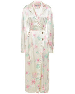 Pink dégradétulle maxi dress