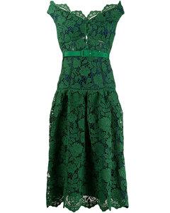 Lace Dress Green