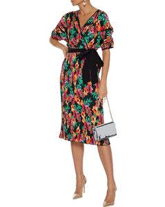 Belize印花真丝迷你罩裙