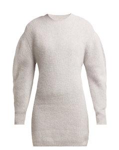 Sigrid cashmere-knit dress