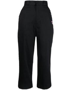 纯棉斜纹布衬衫式连衣裙
