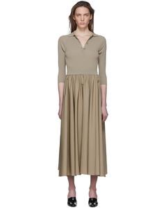 灰褐色Fred Polo连衣裙