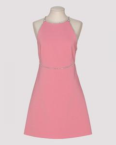 Pink Faille Cady Dress