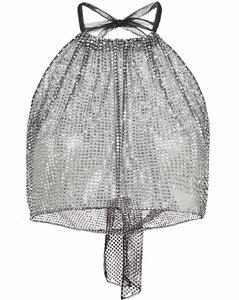 黑色束带短款连衣裙