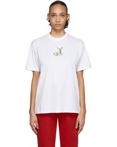 白色Deer T恤
