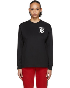 黑色Atherton T恤