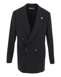 daisy denim mini skirt