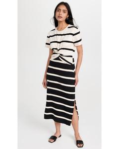 Black ruched mini dress