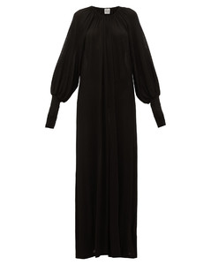 Anville fine-knit maxi dress