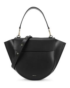 Hortensia medium leather top handle bag