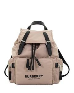 The Rucksack rose beige medium backpack