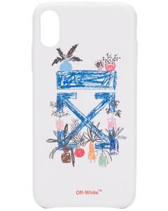 iPhone XS MAX手绘印花手机壳