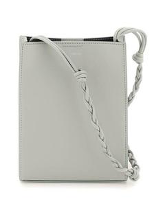 Pink matelasséleather bucket bag