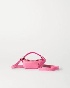 Le Nani纹理皮革迷你手提包