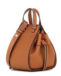 Hammock Mini leather shoulder bag