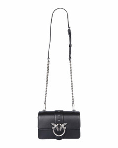 Grainy Leather Note Crossbody Bag