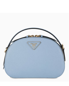 Light-blue Saffiano Odette bag