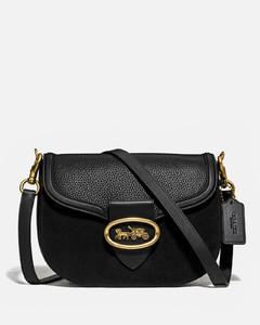 Women's Kat Saddle Bag - Black