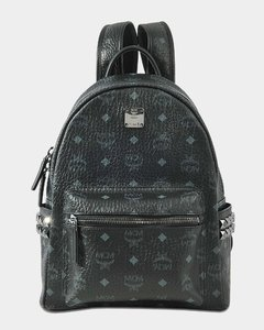 Stark Small Backpack In Black Synthetic Material