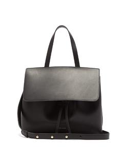 Mini Lady leather cross-body bag