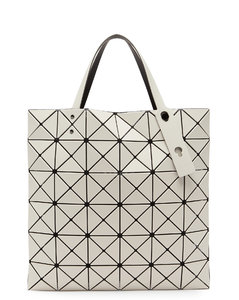 Lucent medium frost-PVC tote bag