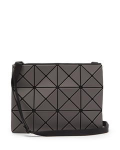 Lucent frost-PVC cross-body bag