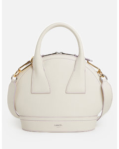Small Quilted Check Two-tone Lambskin Lola Bag