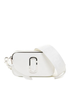 Drawstring Bucket Bag In Silver Synthetic Leather