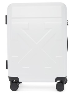 白色箭头行李箱
