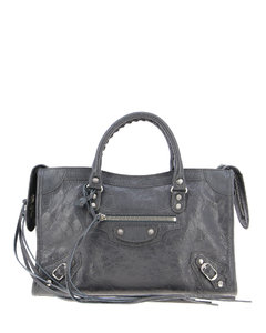 City S leather bag