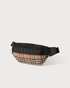 Vintage Check Bum Bag