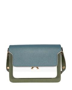 Trunk Bag colour block shoulder bag
