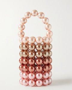 Comino人造珍珠手提包