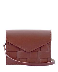 - Näver Mini Shoulder Bag in Brick Leather
