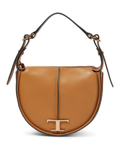 Black Leather Wall Card Clip