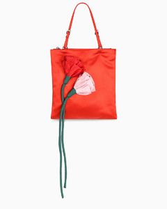 Red Blossom mini bag