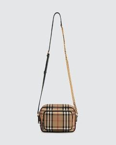 Vintage Check Crossbody Bag