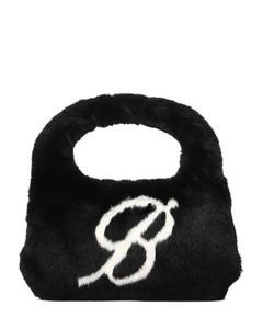 Mini Wangloc Rhinestone Mesh Shopper Bag