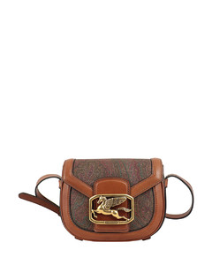 Paisley satchel bag