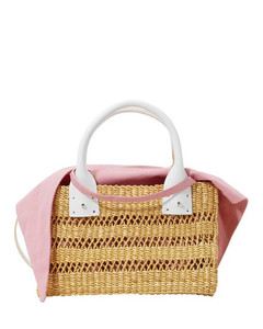 Charlotte basket with pouch