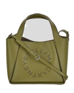 Cream Paisley satchel bag