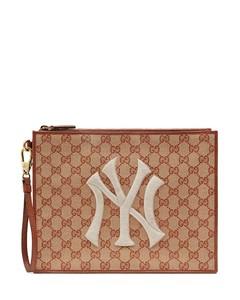 Original GG NY Yankees™贴花小手包