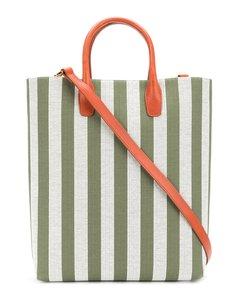 条纹购物袋