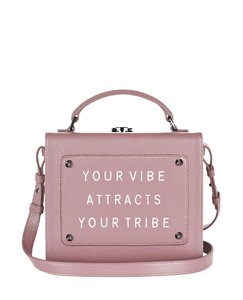 Art Bag 'Your vibe attracts your tribe' - Olivia Steele- Cameo