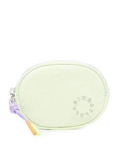 Handbag KIRA SHOULDER BAG leather logo embroidery pink