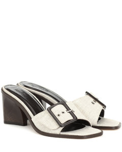 Silvia亚麻凉鞋