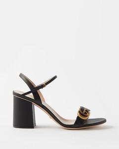GG Marmont block-heel sandals