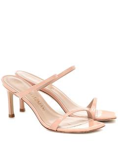 Aleena漆皮凉鞋